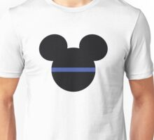 Mickey Mouse Thin Blue Line Unisex T-Shirt