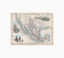 Vintage Map of Mexico (1851) Unisex T-Shirt