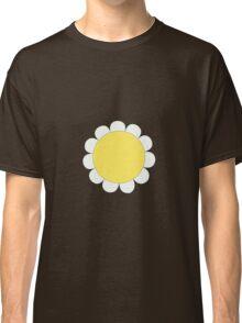 Daisy Graphic Design, White and Yellow Nature Classic T-Shirt