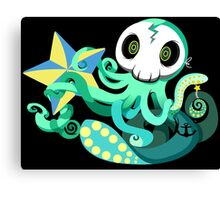 Octostar Canvas Print