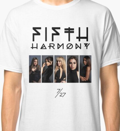 Fifth Harmony 7/27 Portrait #BlackText Classic T-Shirt