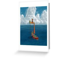 Wind Waker-Lone Ocean  Greeting Card