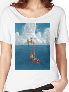 Wind Waker-Lone Ocean  Women's Relaxed Fit T-Shirt