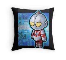 ULTRAMAN POOTERBELLY Throw Pillow