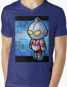 ULTRAMAN POOTERBELLY Mens V-Neck T-Shirt