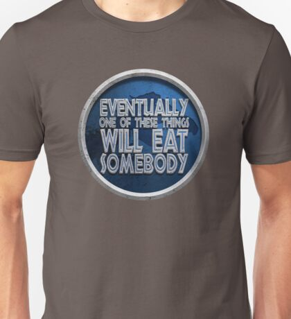 Jurassic Disclaimer Unisex T-Shirt