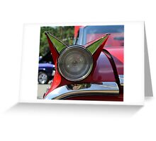 Car Show Taillight Greeting Card