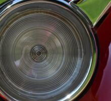 Car Show Taillight Sticker