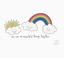 We can do beautiful things together Kids Tee