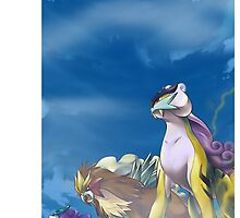 3 Legendary Beasts Phone Case Pokemon by TomsTops