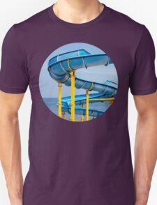 Blue Water Slide Unisex T-Shirt