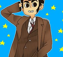 Doctor Who - David Tennant ver. 1 by aph-bagel