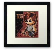 "WADDLING DEAD ""Bow Hunter"" POOTERBELLY Framed Print"