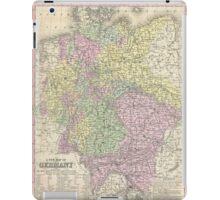 Vintage Map of Germany (1853) iPad Case/Skin