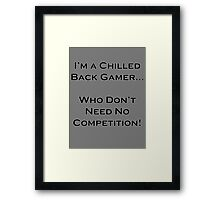 funny design Framed Print