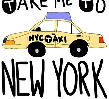 Take Me To New York by Crystal Friedman