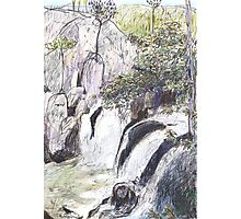 Little Millstream Falls Photographic Print