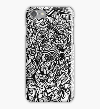 Old Hat the Elephant Man is King iPhone Case/Skin