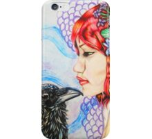 Raven's Kiss iPhone Case/Skin