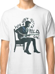Shawn Mendes Hold On Typography Classic T-Shirt