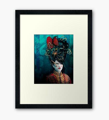 Queen of the Wild Frontier Framed Print
