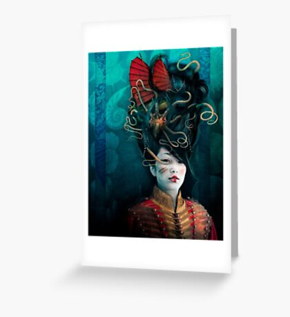 Queen of the Wild Frontier Greeting Card