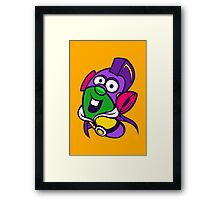 Larry Boy Framed Print