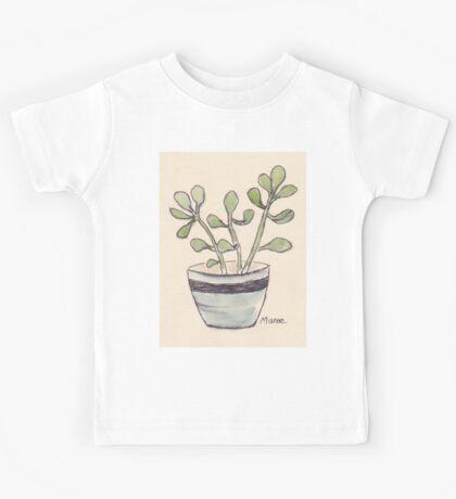 Echeveria seedlings Kids Tee