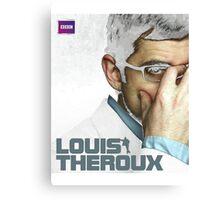 Louis Theroux BBC Canvas Print