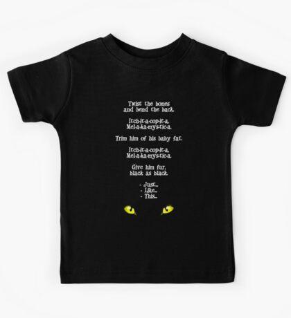 The Black Cat Curse (Hocus Pocus) Kids Tee