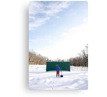 Game off Canvas Print
