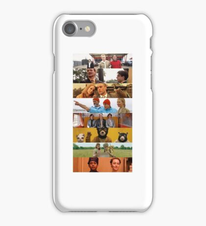 Directed By Wes Anderson iPhone Case/Skin