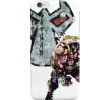 Bane Gridwork Character and Logo iPhone Case/Skin