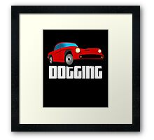 Dogging Fun Adult Swingers Swinging Swinger Shirt Framed Print