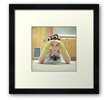 Housewife Framed Print