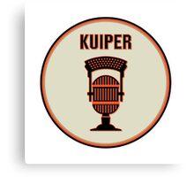 SF Giants Announcer Duane Kuiper Pin Canvas Print