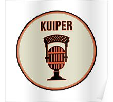 SF Giants Announcer Duane Kuiper Pin Poster