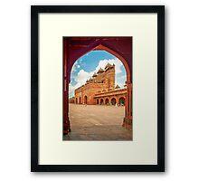 Jama Masjid - Fatehpur Sikri Framed Print