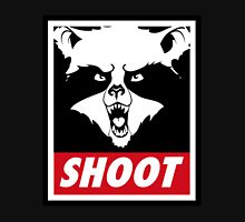 The raccoon doesn't obey, he shoot. Unisex T-Shirt