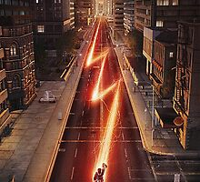 NEW FLASH TV Show Poster! by gentilj17