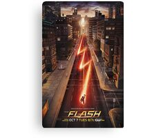 NEW FLASH TV Show Poster! Canvas Print