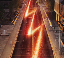 NEW FLASH TV Show Poster! Sticker