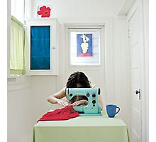sew what Photographic Print