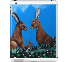 The March Hare (3:2 version ) iPad Case/Skin