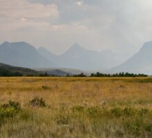 Smokey Glacier National Park Sticker