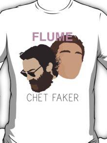 Chet Faker & Flume - Minimalistic Print T-Shirt