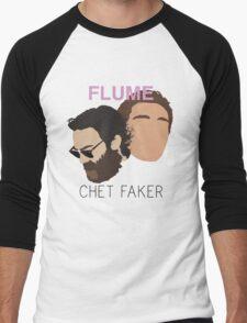 Chet Faker & Flume - Minimalistic Print Men's Baseball ¾ T-Shirt