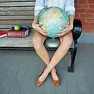 World in her hands by Kelly Nicolaisen