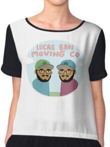 Lucas Bros moving Company Chiffon Top