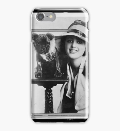 Old Time Photographs - Virginia Rappe iPhone Case/Skin